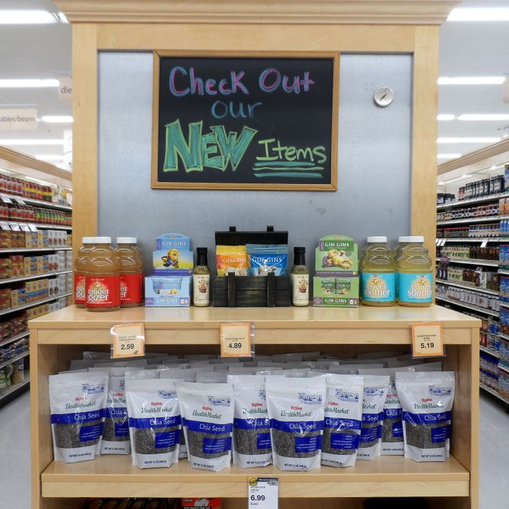 Our #Heatlh Market is always getting new items! Stop by and see what has just arrived! #hyvee4 #new #healthy