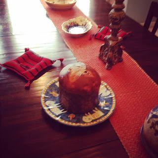 Maria Teresa's Kitchen: Panettone (Christmas Italian bread with Raisins)