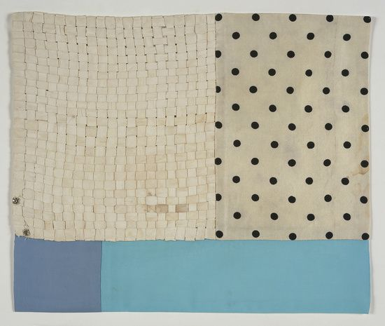 Louise Bourgeois - Untitled, 2007  Fabric  36.8 x 43.4 cm / 14 1/2 x 17 1/
