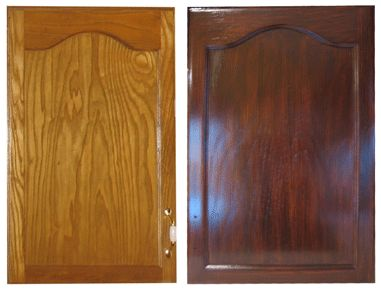 Gel staining kitchen cabinets instructions using the gel stain we also used for the woodwork in the rest of the house. Try on a drawer front? We have some extra stain lying around...