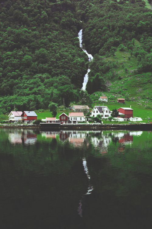 Norway. This quaint little village is perfect for those hermits who love nature and the absolute freedom of a very, very small town.