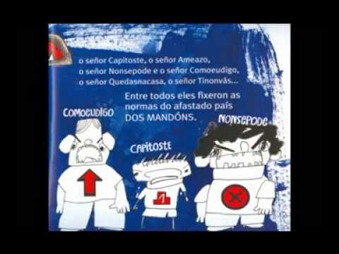 """""""O país dos mandóns""""  de Paloma Rodríguez e Cristina Justo - Ed. Embora"""