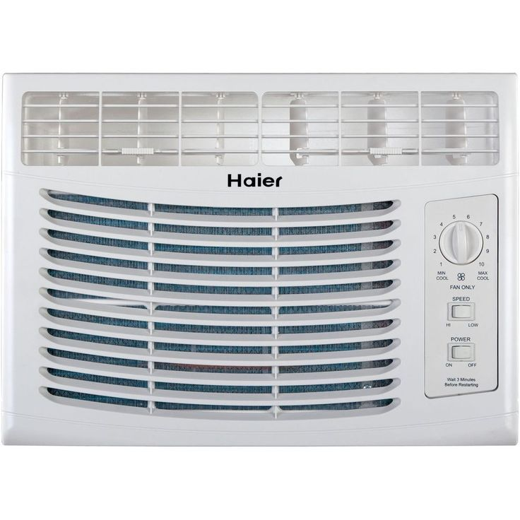 Air Conditioner Furnace Conditioning Unit White Cooling Fan Living Room Heat Haier