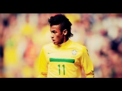 Neymar - Brazil National Football Team 2012/2013 HD