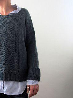 """Norderney,"" by Isabell Kraemer, knit with Baa Ram Ewe Dovestone DK."