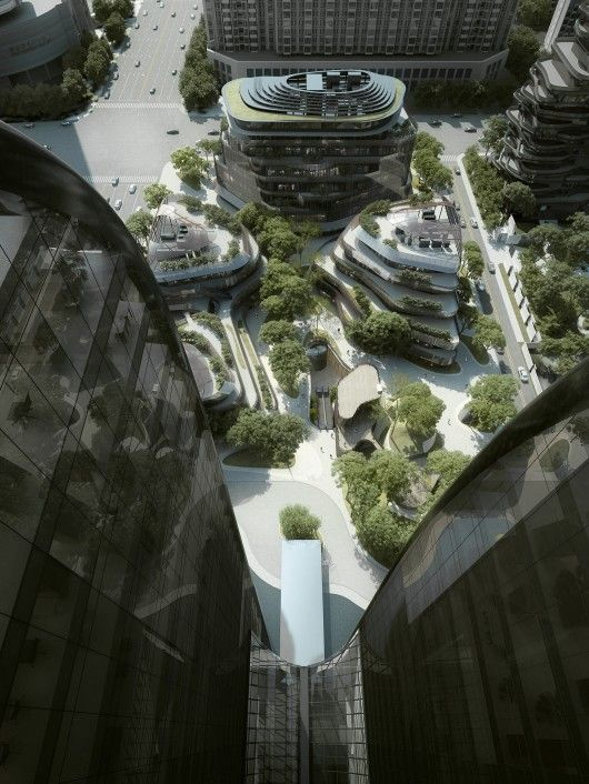 mad breaks ground on proposal that redefines beijings city landscape chaoyang city office furniture