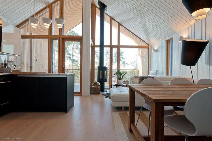 Myytävät asunnot, Yläkartanontie 39 D, Espoo #oikotieasunnot #skandinaavinen #scandinavian
