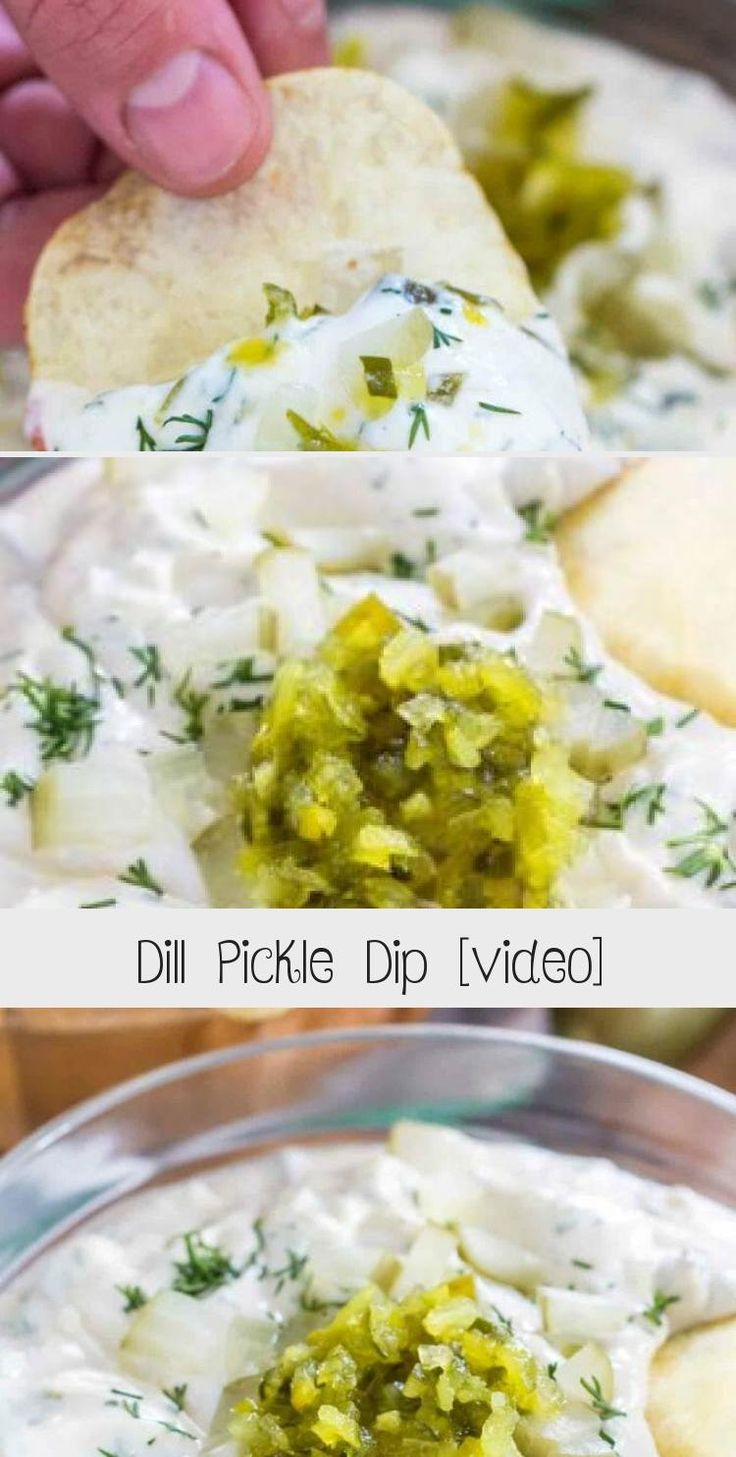 Dill Pickle Dip [video]