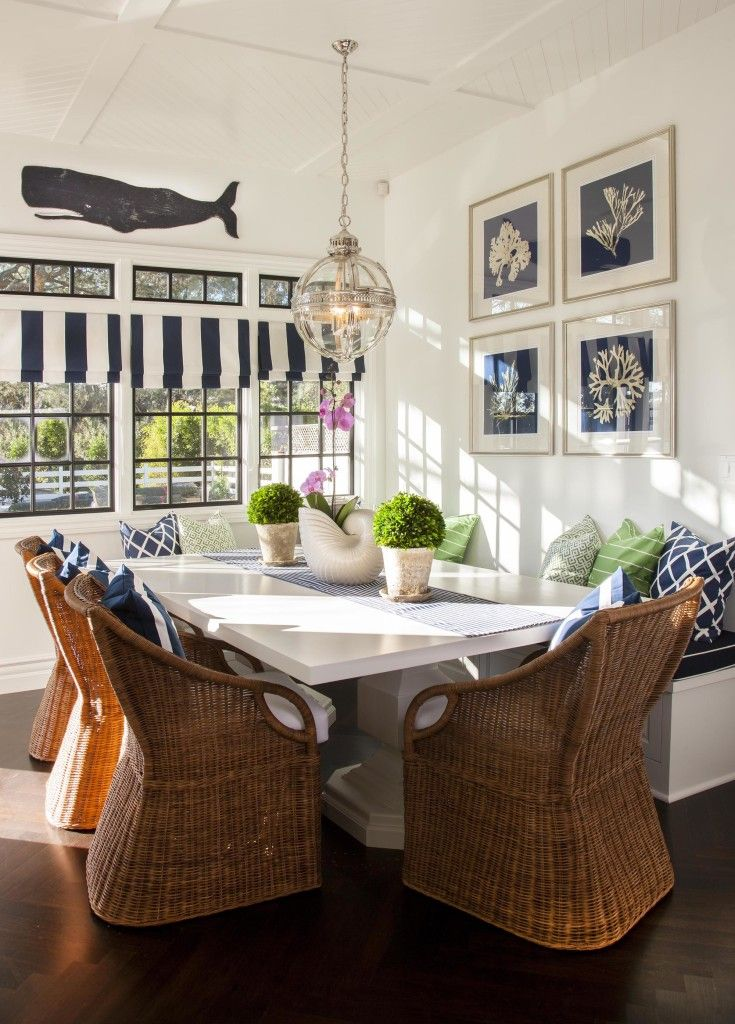 This Would Be Cool If You Had A Beach House Know Like Coastal Dining RoomsCottage