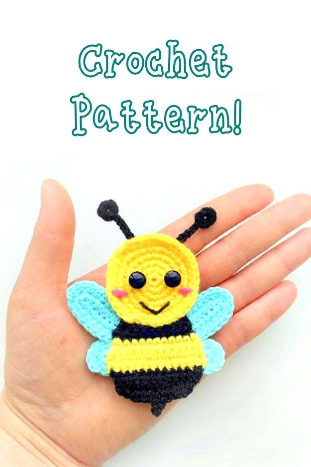 PATTERN: Cuddle-Sized Bumble Bee Amigurumi, Crocheted Honey Bee ... | 938x625