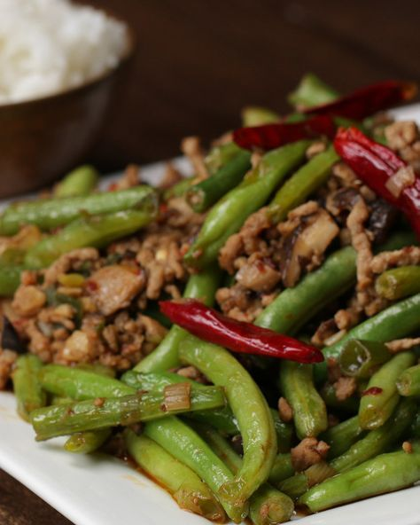 Chinese Green Beans | This Recipe For Chinese Green Beans Is Totally Perfection