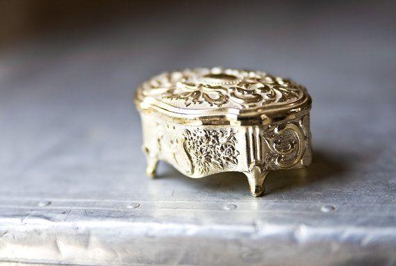 Vintage Jewelry Box by ReneeVintage on Etsy
