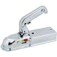 Tête d'attelage remorque à fixer montant carrée 60 mm