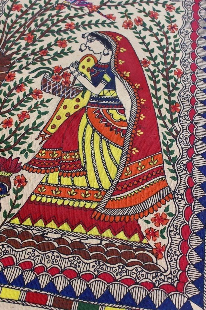 Life's little treasures: Madhubani painting