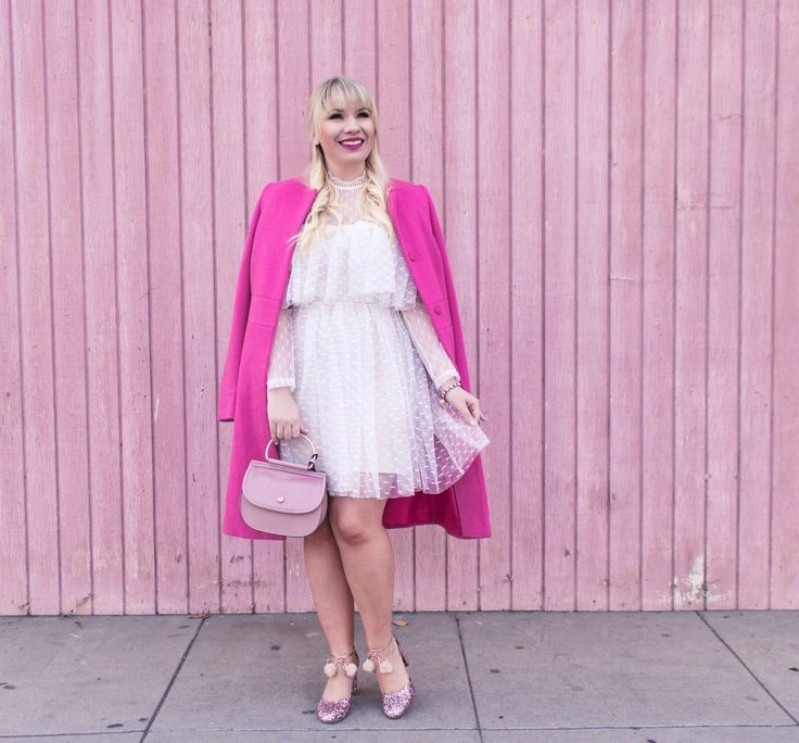 I'm talking all about my favorite fashion trends for 2018! This pretty pink outfit is one of my faves. Can you guess which trend I'm wearing?