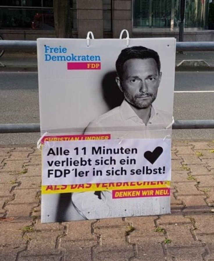 2017 – DAS Jahr der Wahlplakate und Fragezeichen