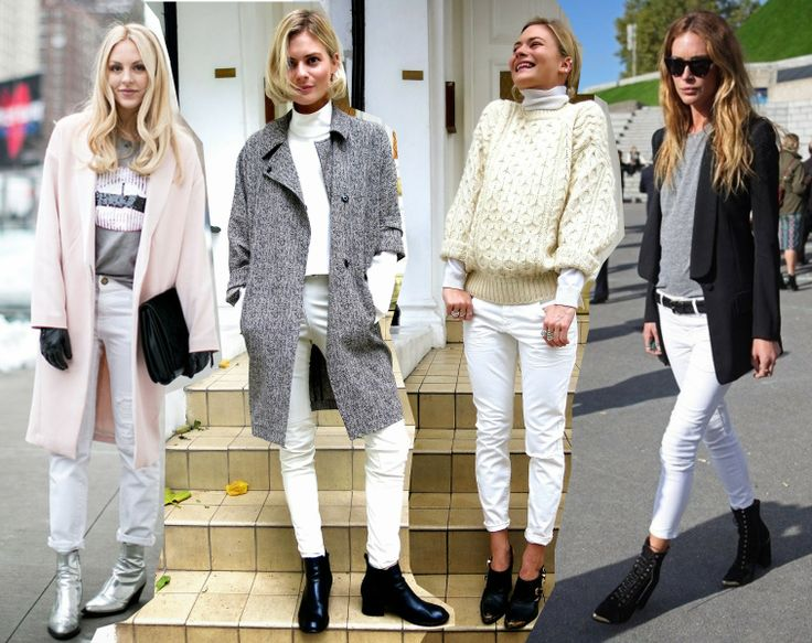 20 best images about White jeans on Pinterest | Grey, White jeans ...
