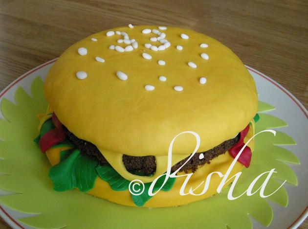 Cake Hamburger