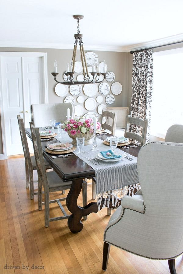 On The Hunt For Good Looking Inexpensive Dining Chairs I M Sharing 20 Of My Favorites Plu Easter Table Decorations Farmhouse Easter Decor Kitchen Table Decor
