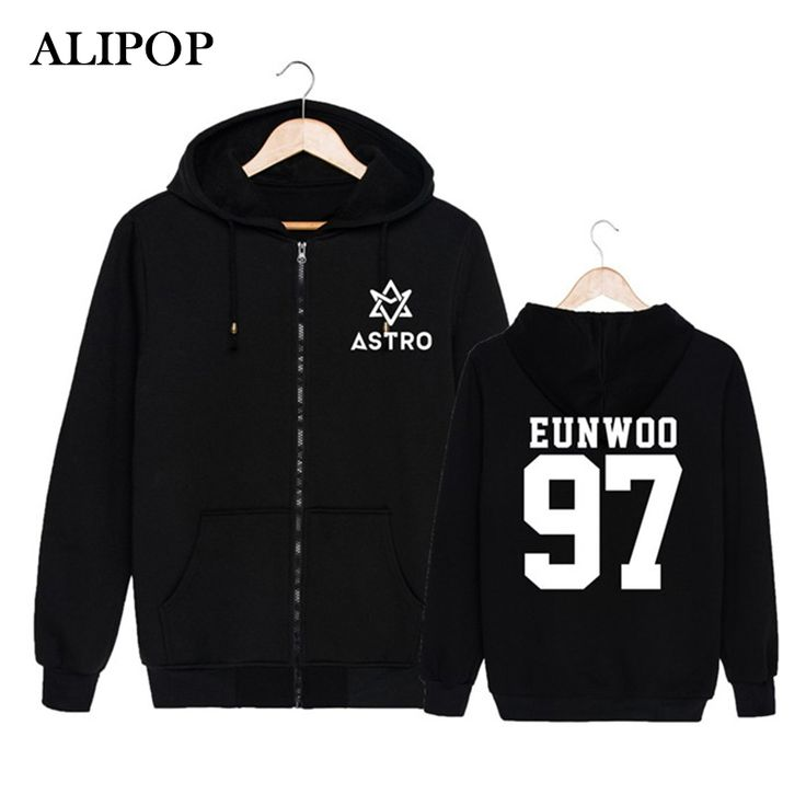 ==> [Free Shipping] Buy Best ALIPOP KPOP Korean Fashion ASTRO Spring Up 1st Mini Album 2nd Release Cotton Zipper Hoodies Clothes Zip-up Sweatshirts PT184 Online with LOWEST Price | 32787093159