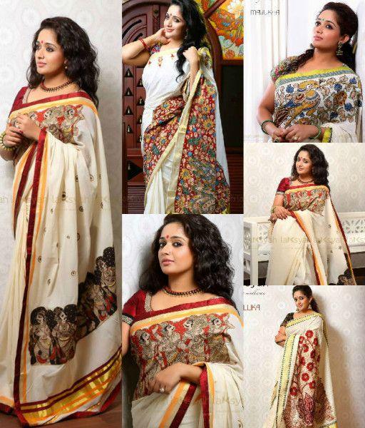 Gorgeous Kalamkari Sarees by Laksyah