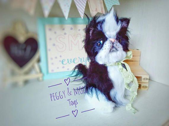 Sweet Persian kitten Kipper in adoption  Etsy: https://www.etsy.com/es/listing/528450942/ooak-artista-artesanal-peluche-gato