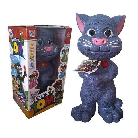 Gato Tom + Juguete Didáctico + Táctil + Sonidos