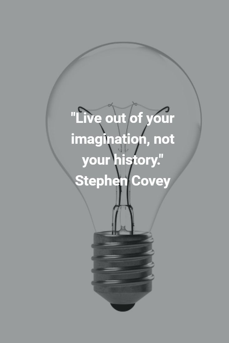 """""""Live out of your imagination, not your history."""" Stephen Covey #mikestrawhat #pirateprofile"""