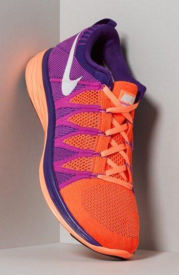 Nike 'Flyknit Lunar2' Running Shoe (Women)   Nordstrom