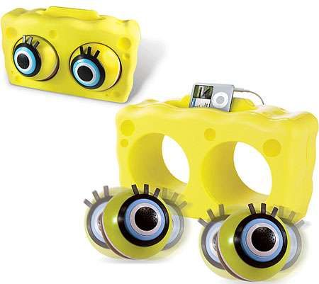 eyeballs as speakers