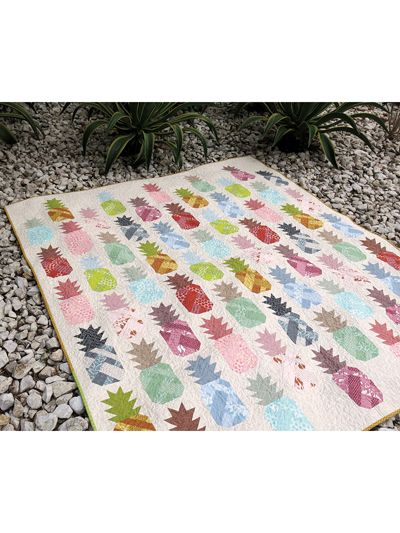 Pineapple Farm Quilt Pattern from Annie's Craft Store. Order here: https://www.anniescatalog.com/detail.html?prod_id=136131&cat_id=1644