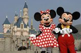 Mickey Mouse and Minnie Mouse Welcome Everyone To Hong Kong Disneyland Resort