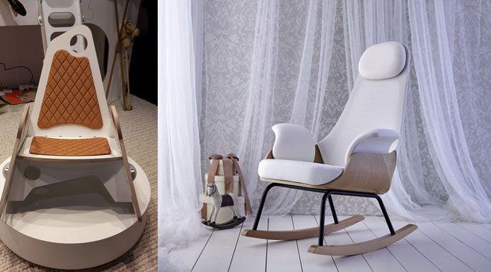 De gaafste schommelstoelen voor iedere (baby)kamer
