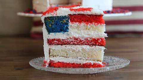 76 best red white blue images on pinterest july 4th for American flag cake decoration