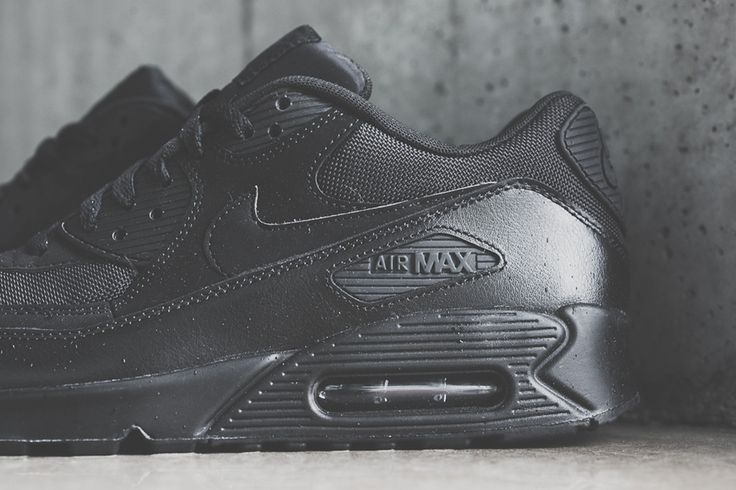 """Do I need another all black pair of Air Max 90's?  Air Max 90 Essential """"Triple Black"""""""