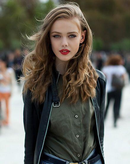 Perfect red lipstick. (Frida Gustavsson)
