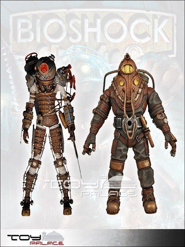 Bioshock 2 Serie 2 Actionfiguren Umkarton 18cm (8) - Bioshock - Games
