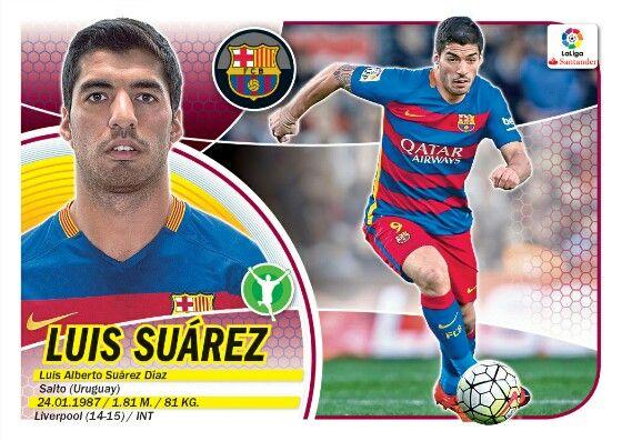 Luis Suárez - Barcelona - LIGA BBVA - 2016-2017 PANINI
