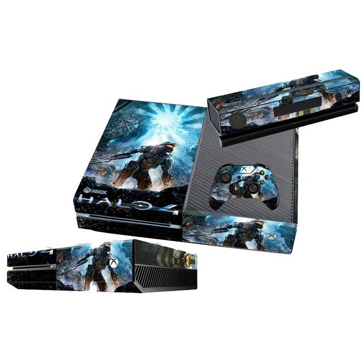 *NEW* Xbox One Skin Halo 4 Features : - (2) Controller Skins - (1) Console Skin - (1) Kinect Skin