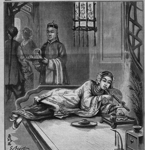 Fumadero de Opio. s XIX