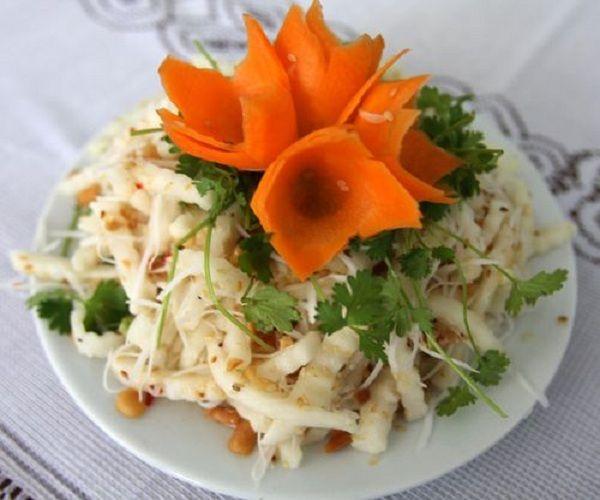 Món Ăn Việt: Cách làm nộm củ sen đơn giản tại nhà