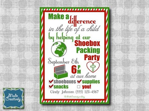 134 best Operation Christmas Child images on Pinterest | Shoebox ...
