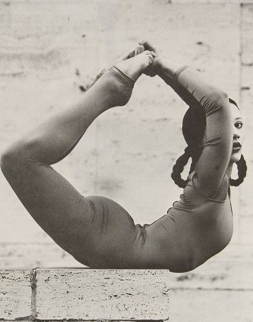 Unknown Yoga Practicer