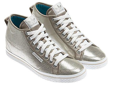 Zapatilla Honey Heel Mujer by Adidas #shoes #adidas #fashion #silver