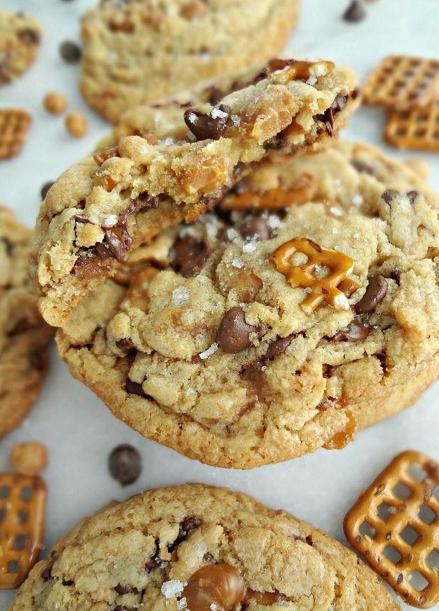 Sweet & Salty Kitchen Sink Cookies {Panera Copycat ...