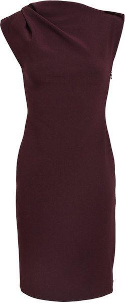 Lanvin Stretch Woolblend Dress - Lyst