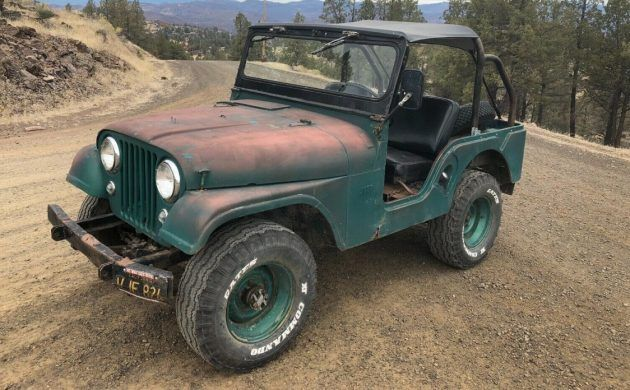 Off Road Runner 1956 Jeep Cj5 Jeep Cj Willys Jeep Jeep