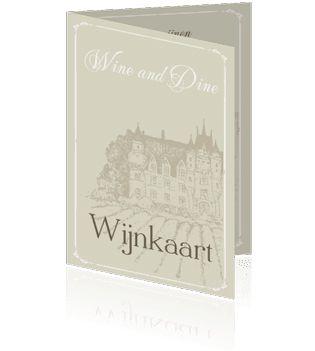 Wijnkaarten voor restaurants kopen of zelf maken. Een prachtige wijnkaart voor restaurant of thuis.