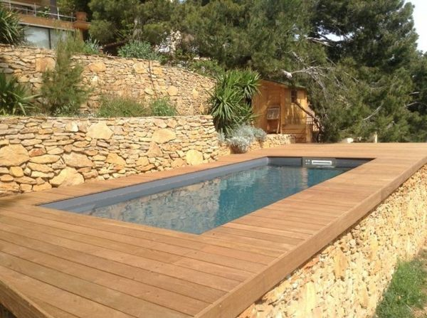 1000 ideas about petite piscine on pinterest small pools plunge pool and lap pools Piscine hors sol design
