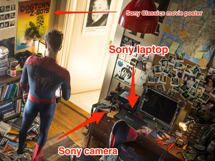 'Amazing Spider-Man' Sequel Packed With Sony Product Placement KIRSTEN ACUNA MAY 1, 2014 - Business Insider